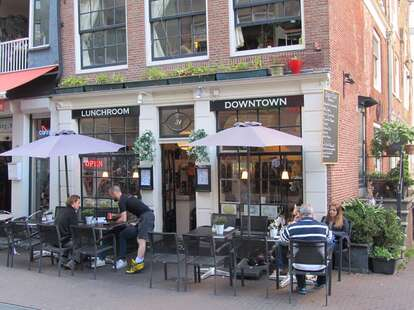 Lunchroom Downtown Amsterdam