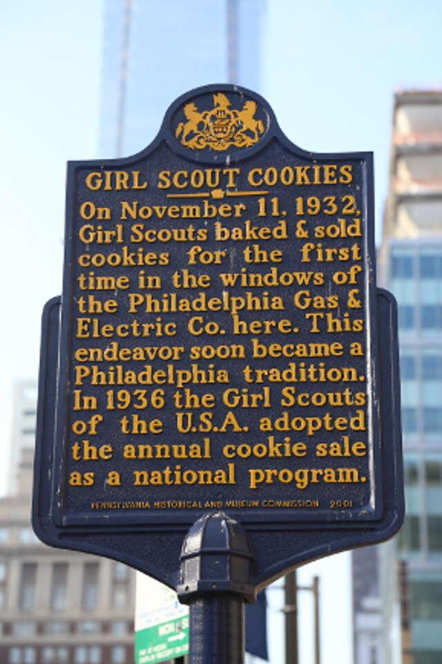 philadelphia girl scout sign