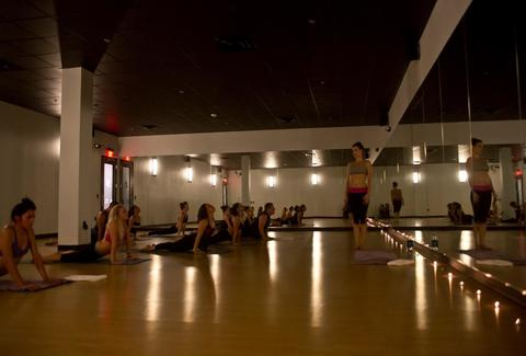 103 hot yoga studio