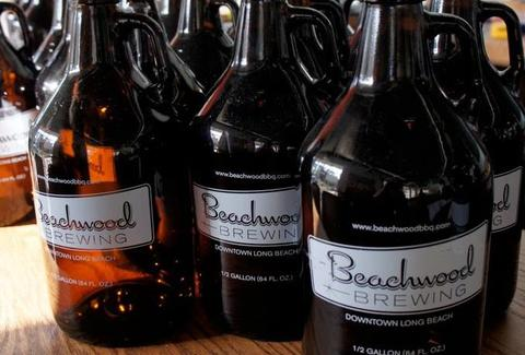 Beachwood BBQ LA Brewing jugs