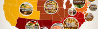 The Unofficial Comfort Foods of Every State in America