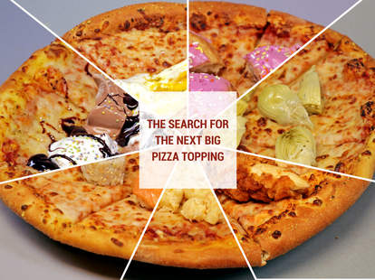 the next big pizza topping