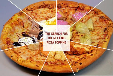 Weird Pizza Toppings Domino S Ice Cream Pizza Jelly Donut Pizza