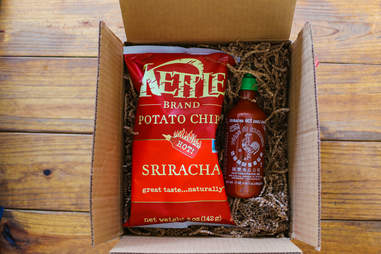 Sriracha in a box