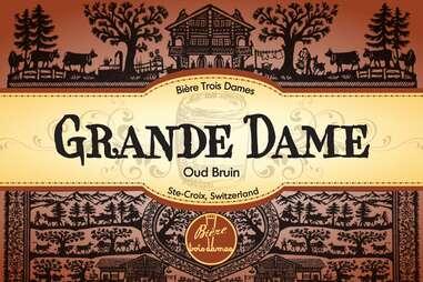 Trois Dames Oud Bruin Label