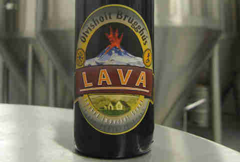 Ölvisholt Lava Smoked Stout