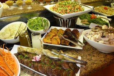 israel breakfast buffet