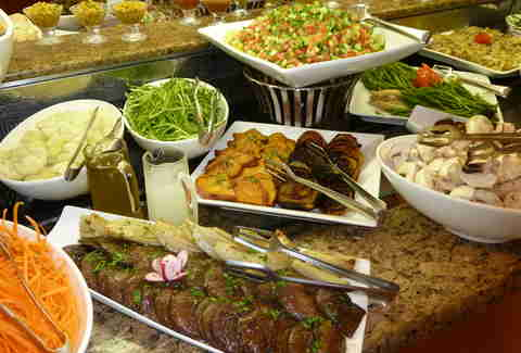 israel breakfast buffet