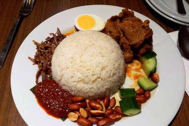 nasi lemak malaysia