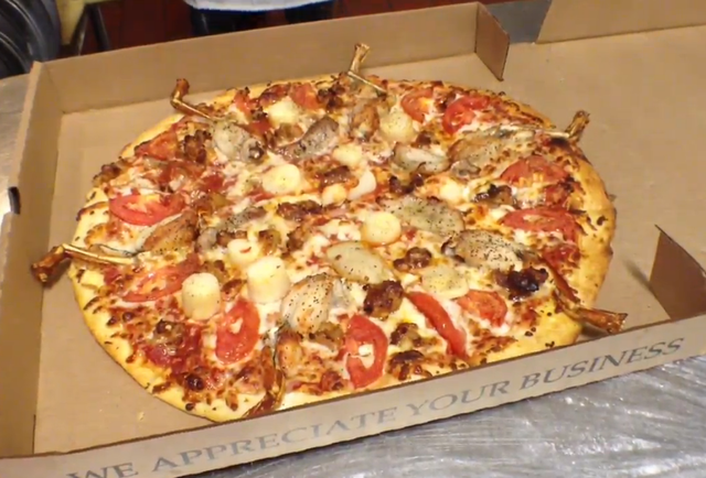 You can now order a python pizza and dominate the food chain