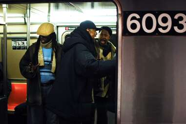 subway singers NYC