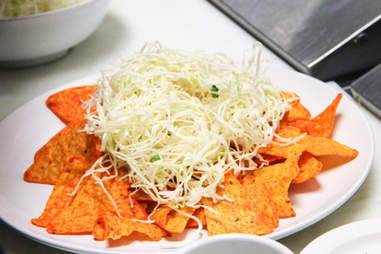 cabbage on Doritos