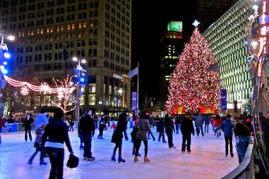 Campus Martius Park Ice Rink 10 Reasons to visit Detroit