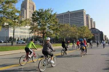 Biking 10 Reasons to visit Detroit
