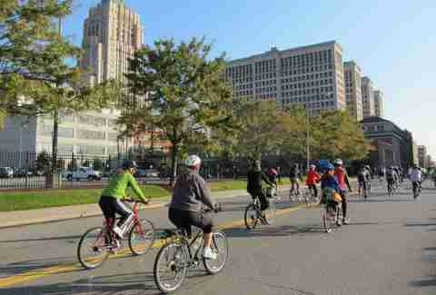 Biking 10 Reasons to visit Detroit