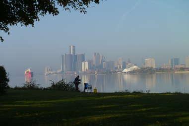 Skyline 10 Reasons to visit Detroit