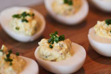 Sea-Deviled Eggs