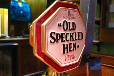Old Speckled Hen, Greene King/ Morland Brewery, Suffolk