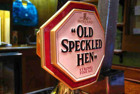 Old Speckled Hen, Greene King/ Morland Brewery, Suffolk