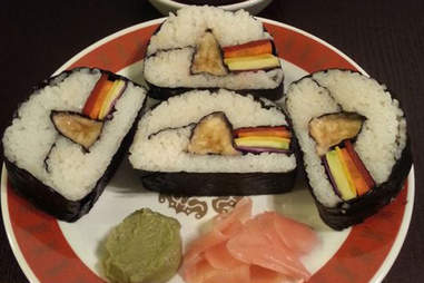 Dark Side of the Moon sushi