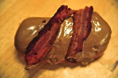 Bacon Maple Bar Voodoo Doughnuts DEN