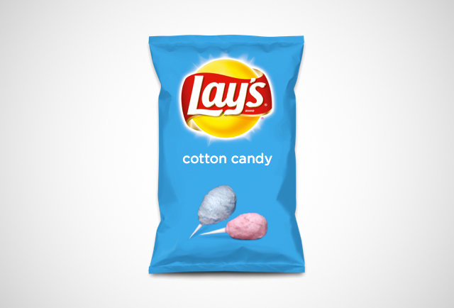 Lay\'s next flavor could be cotton candy or blue cheese blend chips