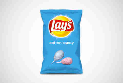 Lay's Cotton Candy