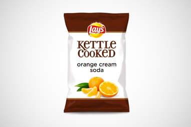 Lay's Orange Cream Soda