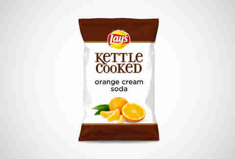 Lay's Orange Cream Soda