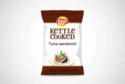 Lay's Tuna Sandwich