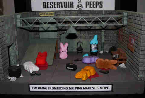 Peeps Reservoir Dogs