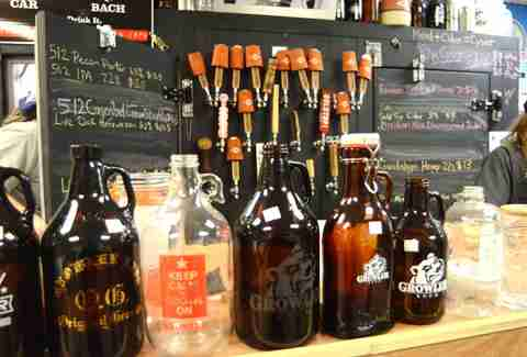 Growler Room Growlers Austin