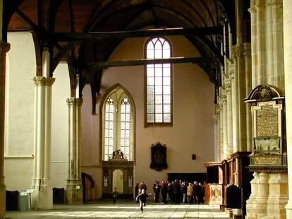 Oude Kerk (Old Church) Amsterdam