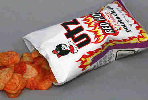 utz red hot