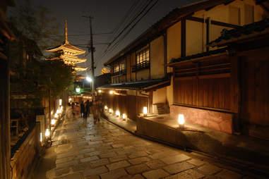 Geisha quarter, Kyoto
