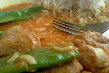 thai food fork