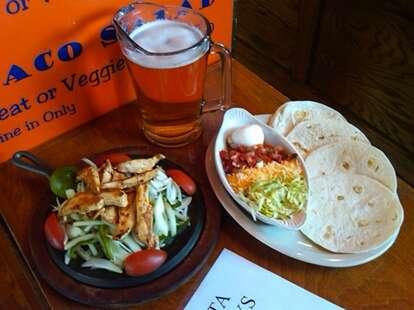 Burrito loco meal