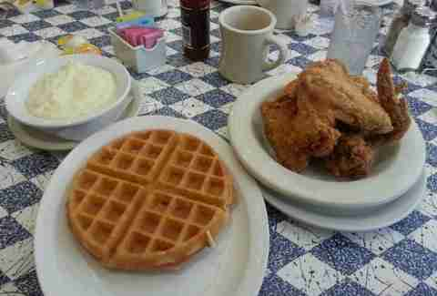 Goody Goody Diner Chicken and Waffles
