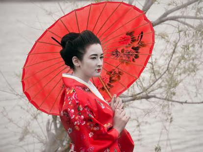 Geisha, Shutterstock