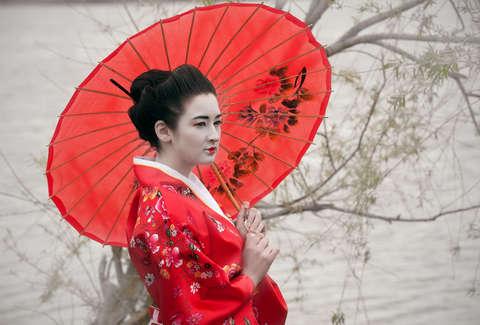 Geisha girl in seattle