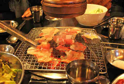 Korean Bbq Restaurant London Cook At Your Table