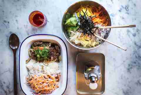 London Korean food