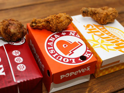 fast food fried chicken