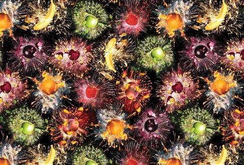 Fruit fireworks