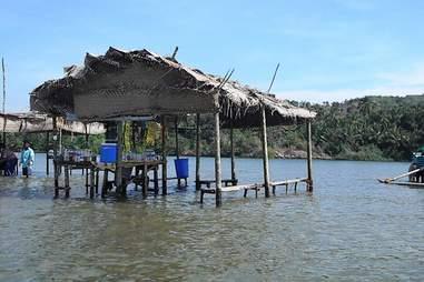 Tsunami Island breakfast shack