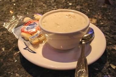 Legal Sea Foods Best Chowder Boston