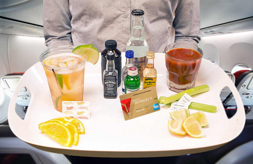 How to mix your own craft cocktails at 30k feet