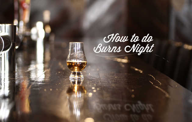 A night of Scotch, toasting, and more Scotch