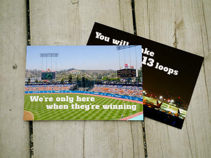 What LA postcards should really say