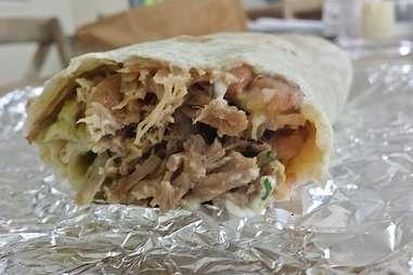Super carnitas burrito